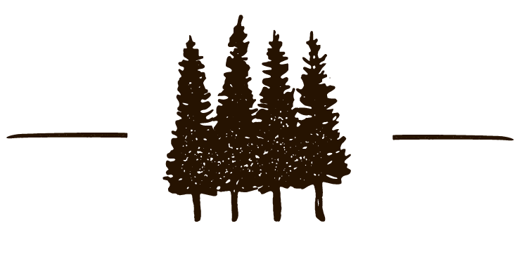 dark brown trees